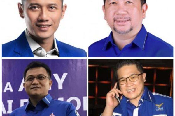 HJP Plt Bendahara, Dareho Diganti HerKer, Begini Struktur Baru DPD Partai Demokrat Sulut