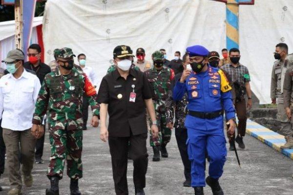 Amankan Pilkada, Pjs Gubernur Fatoni Pimpin Apel Keberangkatan Personel Ditpolairud Polda Sulut