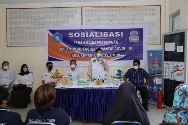 Walikota Sosialisasi Peran Perempuan Dalam Memutus Mata Rantai Covid 19 di Kecamatan Singkil