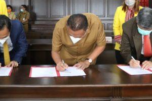 Pemprov Sulut dan UI Teken MoU Beasiswa Program Doktor