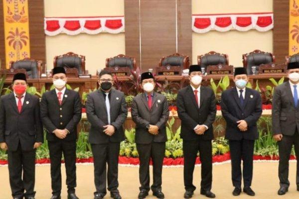 Hadiri Pelantikan 3 Anggota DPRD Sulut PAW, Wagub Kandouw : Mari Terus Berkarya dan Berikhtiar