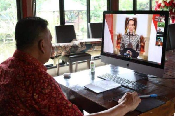 Sidang MPL PGI Resmi Dibuka Jokowi, Gubernur Olly : Terima Kasih Pak Presiden