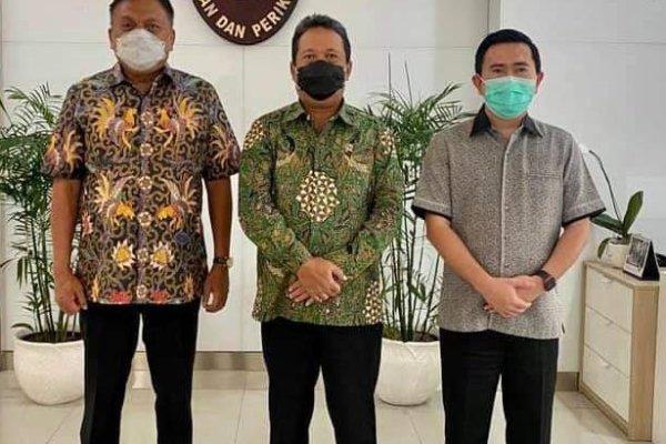 Gubernur Olly Temui Menteri KKP Trenggono, Bahas Sektor Perikanan & Rencana Kunker ke Sulut