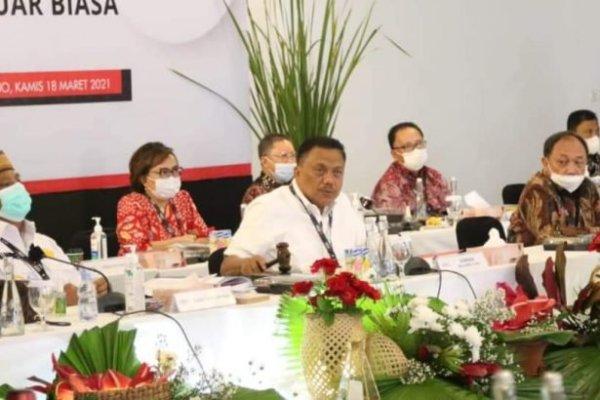 Dipimpin Gubernur Olly, RUPS BSG Tetapkan Edwin Silangen – Revino Pepah Sebagai Komut dan Dirut