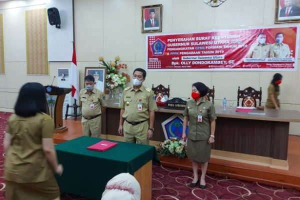 Wagub Kandouw Ingatkan CPNS dan PPPK Selalu Jaga Integritas