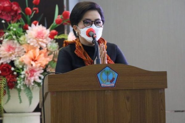 Ibu Rita Harap Ketua Dekranasda Kabupaten/Kota Berdayakan Pengrajin Lokal