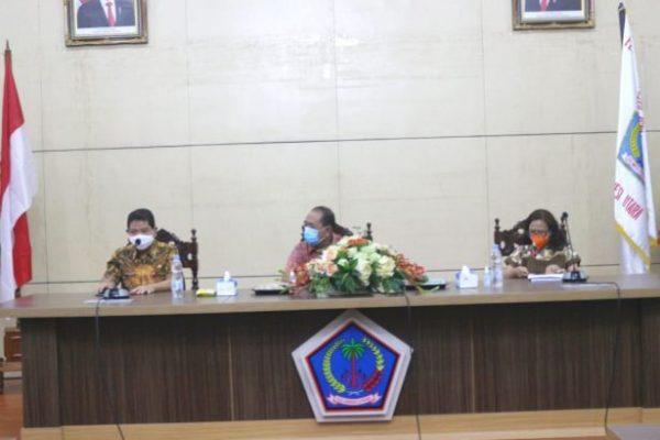 Pemprov Sulut Gelar Finalisasi Penyusunan LPPD Tahun 2020, Ini Tujuannya