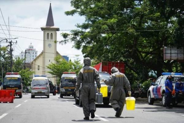 BKSAUA Sulut Desak Usut Tuntas Teror Bom Gereja Katedral Makasar