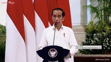 Presiden Jokowi Buka Rakornas Penanggulangan Bencana 2021, Ini Pesannya
