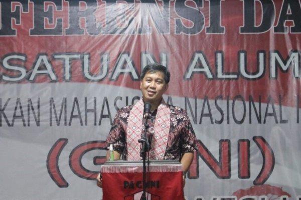 Buka Konferda PA GMNI, Wagub Kandouw Ingatkan Spirit Marhaenisme