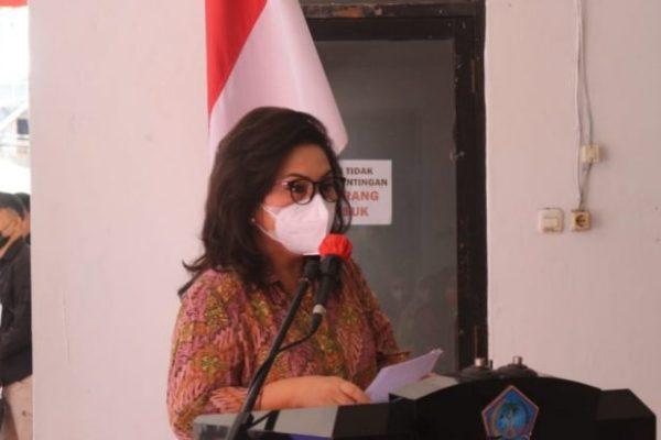Genjot Literasi, Ibu Rita Usul Sudut Baca di Seluruh Kantor OPD Pemprov Sulut