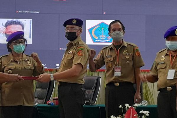 Jackson Ruaw Terpilih Ketua DPP IARMI Provinsi Sulut