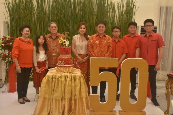 Selamat Bersyukur Walikota Andrei Angouw Peringati HUT ke 50 Secara Sederhana