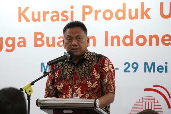 Hadiri Kurasi UMKM se-Provinsi Sulut, Gubernur Olly Dukung BBI dan BWI