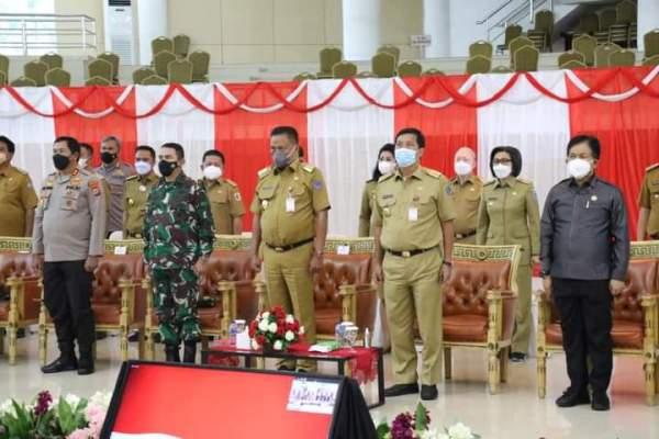 Presiden Jokowi Angkat Jempol Penyebaran Covid-19 di Sulut Bisa Ditekan Saat Mudik Lebaran