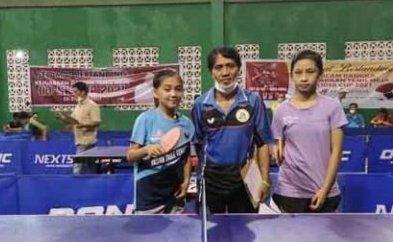 Tabitha Dotulung Juara Tenis Meja Putri OD-SK Cup