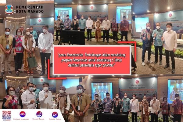 Hadiri FGD, Walikota Angouw Dukung 5 Destinasi Pariwisata Super Prioritas