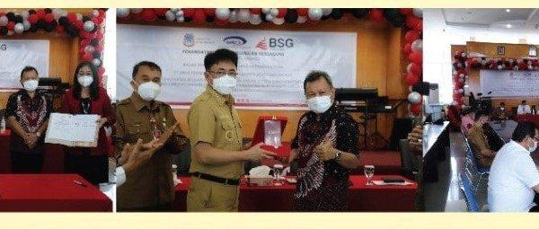 Manfaatkan Aplikasi Kas Daerah Online, Walikota Angow – BPKP- Bank SulutGo Tandatangani Perjanjian Kerjsama