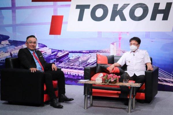 """Walikota Angouw Hadir Dalam Acara TVRI """"Sang Tokoh"""" Bicarakan Program VAKSINASI Hebat"""
