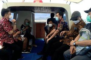 Walikota Angouw Dampingi Satgas KPK Ke Bunaken