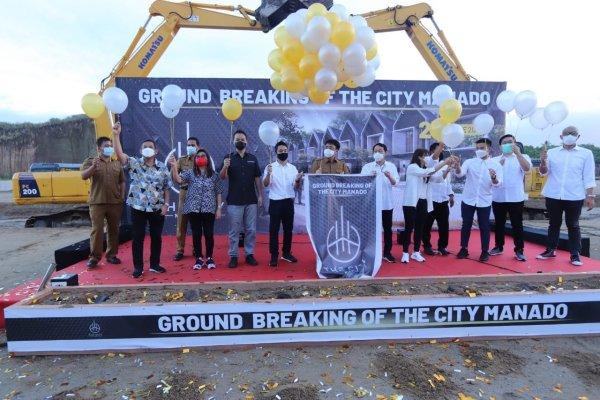 Walikota Angouw Hadiri Ground Breaking of The City Manado