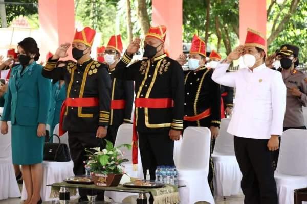 Dipimpin Jokowi, ODSK Ikuti Upacara Hari Lahir Pancasila Secara Virtual