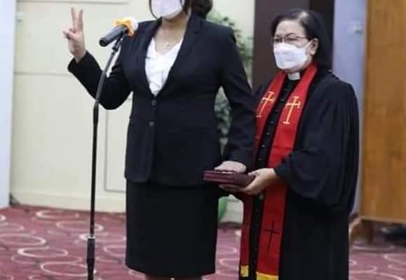 Gubernur Olly Percayakan dr Kartika Devi Tanos Sebagai Kepala P3A Sulut