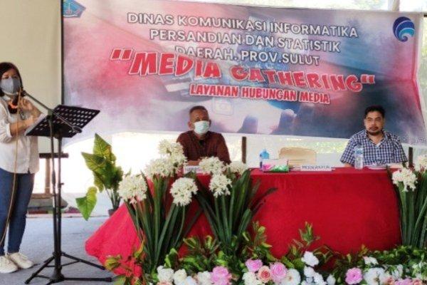 Kominfo Sulut dan JIPS Jalin Silahturahmi melalui Media Gathering