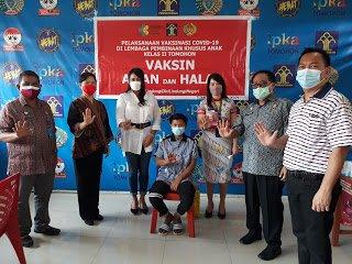 Giliran Panti Asuhan dan Lapas Tomohon Dikunjungi dr Devi Tanos untuk Salurkan Bantuan dan Pantau Vaksinasi