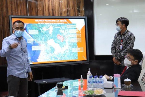 Pertemuan Bersama Walikota Angouw dan Dirut PDAM Manado