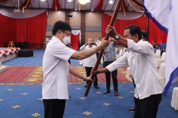 Pelantikan Dewan Pengurus Cabang Kerukunan Keluarga Pensiunan Pamongpraja Kota Manado Periode 2020-2026