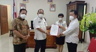 Fery Sangian Dipercayaan ODSK Jabat Plt Kadisbud Sulut