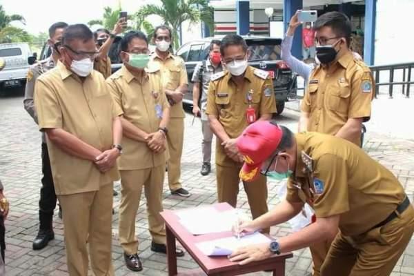 Gubernur Olly dan Walikota Maurits Sepakat Rusunawa Sagerat Jadi RS Darurat C-19 Bitung