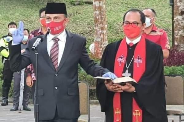 Walikota Carol Senduk Resmi Lantik Edwin Roring Sebagai Sekot Tomohon