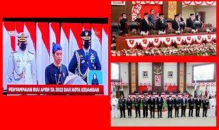ODSK Dengar Pidato Kenegaraan, Jokowi Beber 8 Poin Penting Penanganan Covid-19