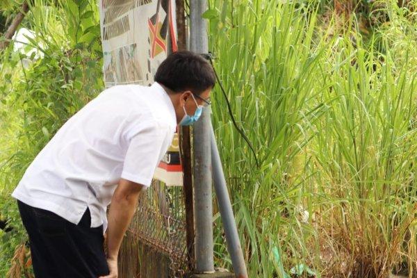 Libur Turun Lapangan, Walikota Pantau Anak Sungai Parit dan Drainase