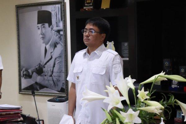 Walikota Angouw Ikuti Zoom Meeting Rakor Nasional Pengendalian Inflasi secara Virtual