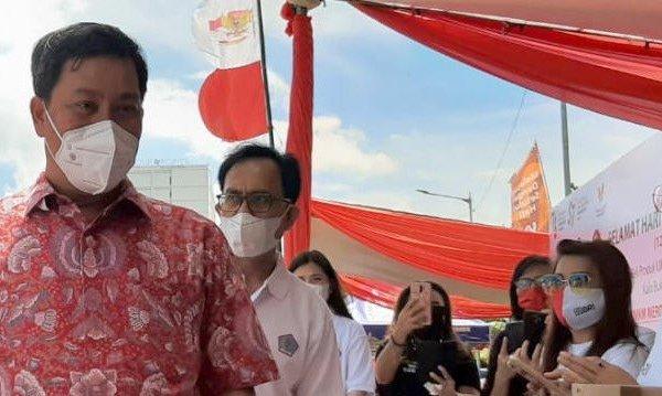 Badan Sehat Ekonomi Harus Sehat, Wagub Kandouw Atasi Covid Bersama UMKM