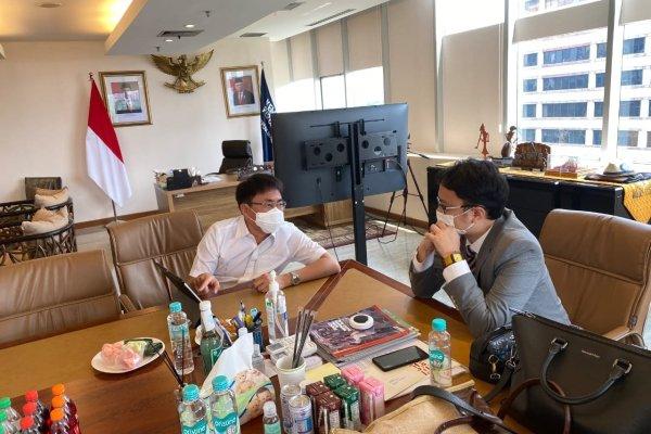 Konsultasi Pembangunan Pasar Wisata di Manado,Walikota Angouw Temui Kemendag