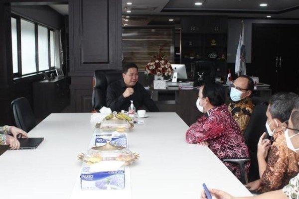 Bahas Jalan Tol Manado-Bitung, PT Jasamarga Audiensi Wagub Kandouw
