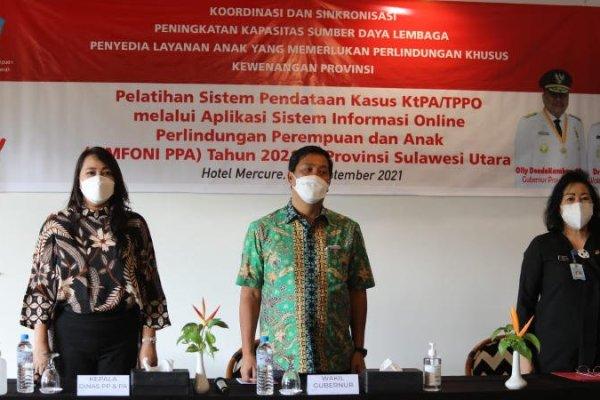 Wagub Kandouw Dukung Upaya DP3A Tekan Angka Kekerasan Perempuan dan Anak