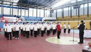 Dilantik Ketua KONI Sulut, Maurits Mantiri Pimpin KONI Bitung 2021-2025