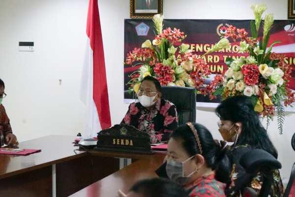 Sekdaprov Silangen Ikuti Exit Meeting Pemeriksaan Kinerja Pendahuluan BPK RI Perwakilan Sulut