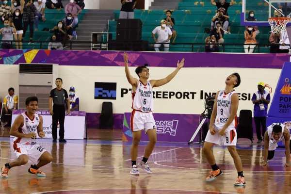 Kapten Tim Basket Putra Sulut Mengaku Terharu