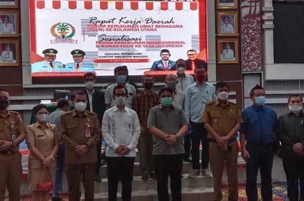 Dibuka Joko Widodo, Lima Ribu Peserta akan Hadiri Konas FKUB di Manado