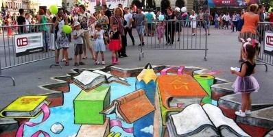 PREDAVANJE: promena percepcije  (3D Street art)