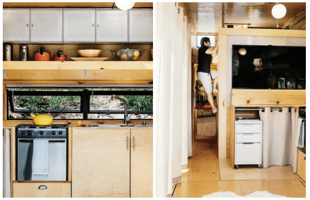 A couple with little or no construction experience built this 236 square foot home for $50,000.