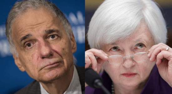 ralph nader to federal reserve chair janet yellen get economics advice from your husband sum180 sum180