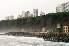 Miraflores cliffs, Kodak Ektar 100
