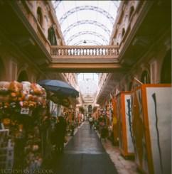 merchant alley in city center, Kodak Ektar 100